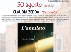 30 Agosto 2014: Claudia Zedda presenta l'Amuleto
