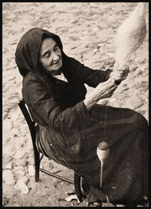 Donna che fila il lino - Fordongianus 1953