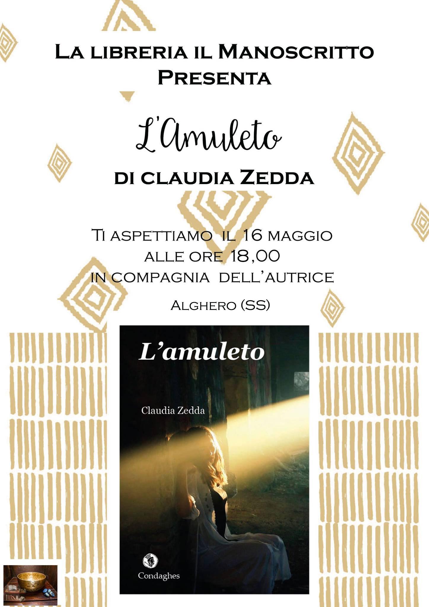 Alghero: la presentazione de L'Amuleto | Claudia Zedda