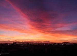 Tramonto-Cagliari